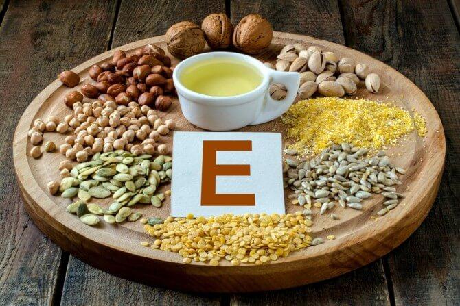 Фото:витамина Е